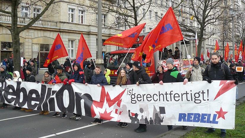Viel Zustimmung zu einer Einheitsfront gegen Faschismus und Krieg (Jetzt mit Bildreport)