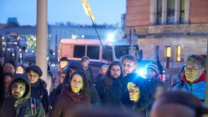 """""""Wir protestieren gegen die Kriminalisierung von Teilnehmern der LLL-Demo"""""""