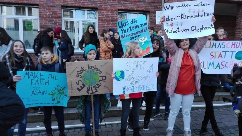Proteste gegen den Siemenskonzern