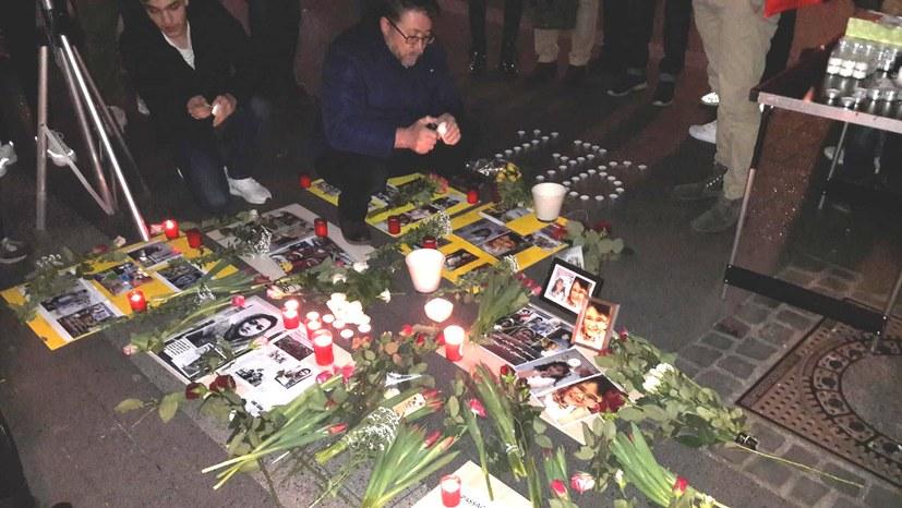 Bewegendes Gedenken an die Opfer des Flugzeugabsturzes im Iran