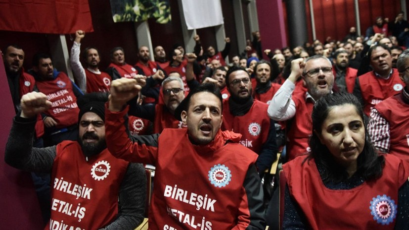 Solidarität mit den streikenden Metallarbeitern in der Türkei - IAC-Vorbereitung auf Hochtouren