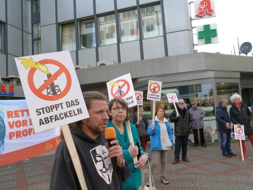 Es reicht! Stopp der Abfackelei bei BP in Scholven und Horst!