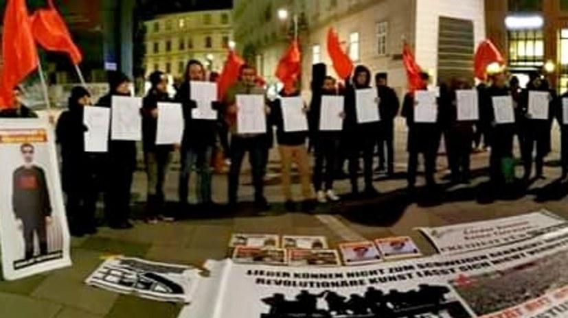 Soli-Kundgebung für Grup Yorum und Mustafa Kocak