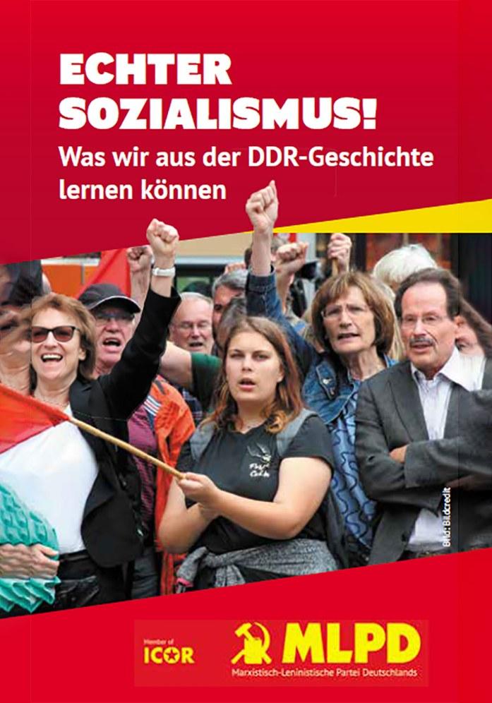 Echter Sozialismus! Was wir aus der DDR-Geschichte lernen können