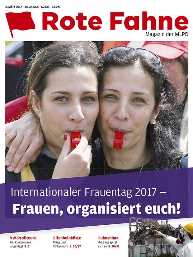 Rote Fahne 05/2017