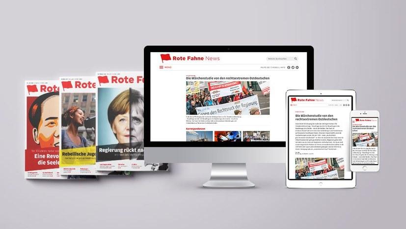 Neue Rote Fahne News kontra Fake News und Meinungsmanipulation