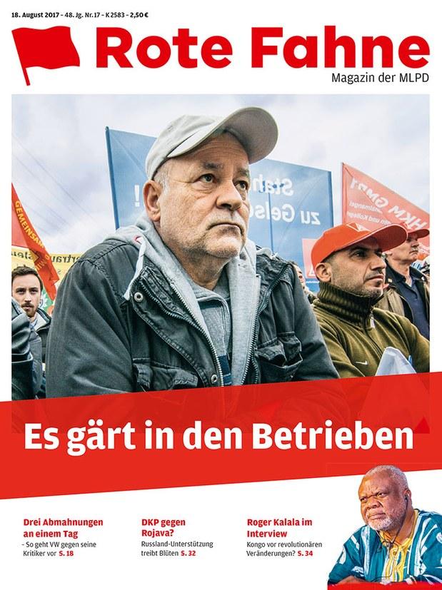 Rote Fahne 17/2017