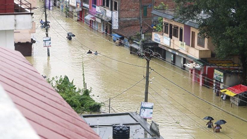 Indiens Dämme verstärken Flutkatastrophen in Nepal