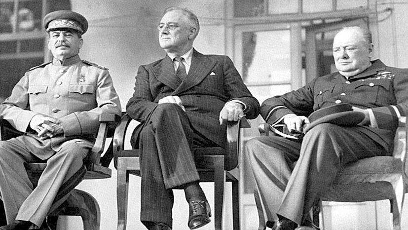 Die Konferenz von Teheran 1943