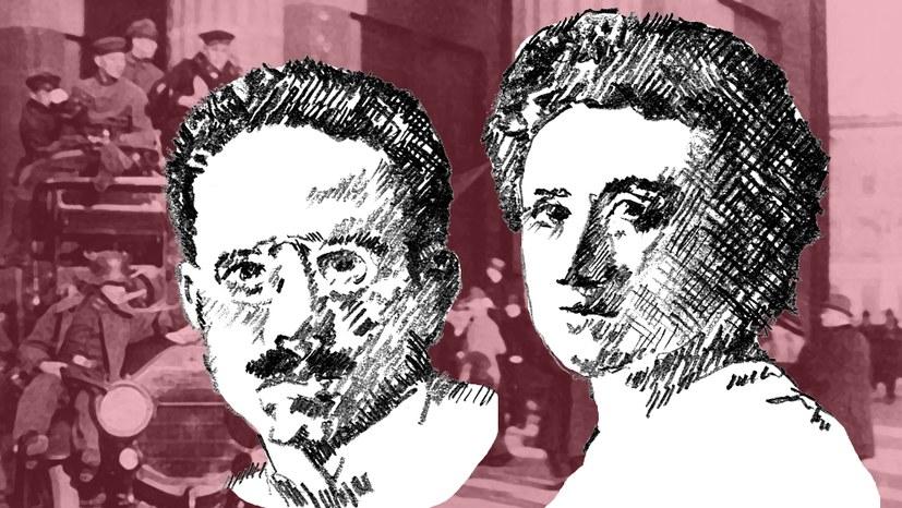 Karl und Rosa – Adler waren sie beide
