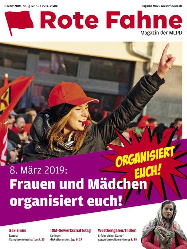 Rote Fahne 05/2019