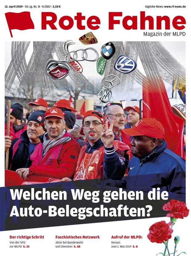 Rote Fahne 08/2019