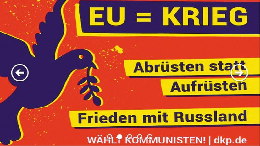 Linkspartei und DKP – ein Eiertanz um die EU