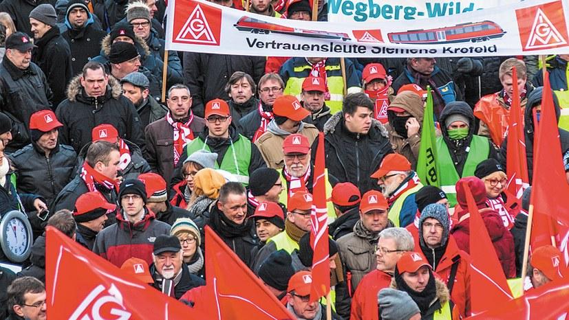 Gewerkschaften – wichtige Baumeister der neuen Gesellschaft
