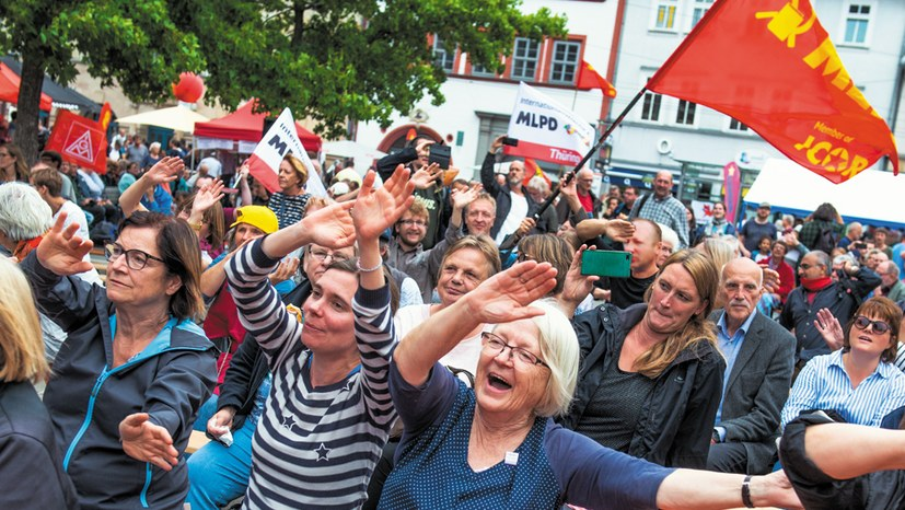 Die Linkspartei trotz Wahldebakel – weiter so!