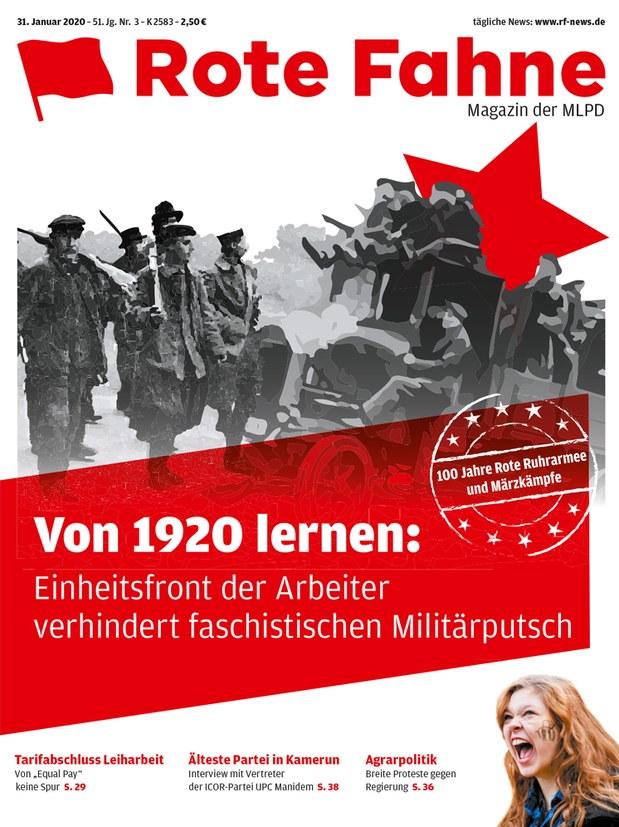 Rote Fahne 03/2020